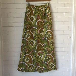 Vintage handmade 70s maxi skirt